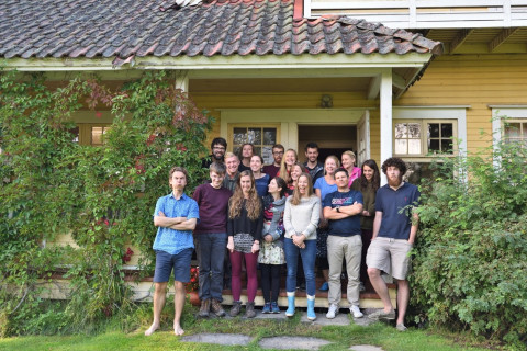 Virpi Lummaa's Group: Project meeting in Finland, August 2016. Photo by Esko Pettay